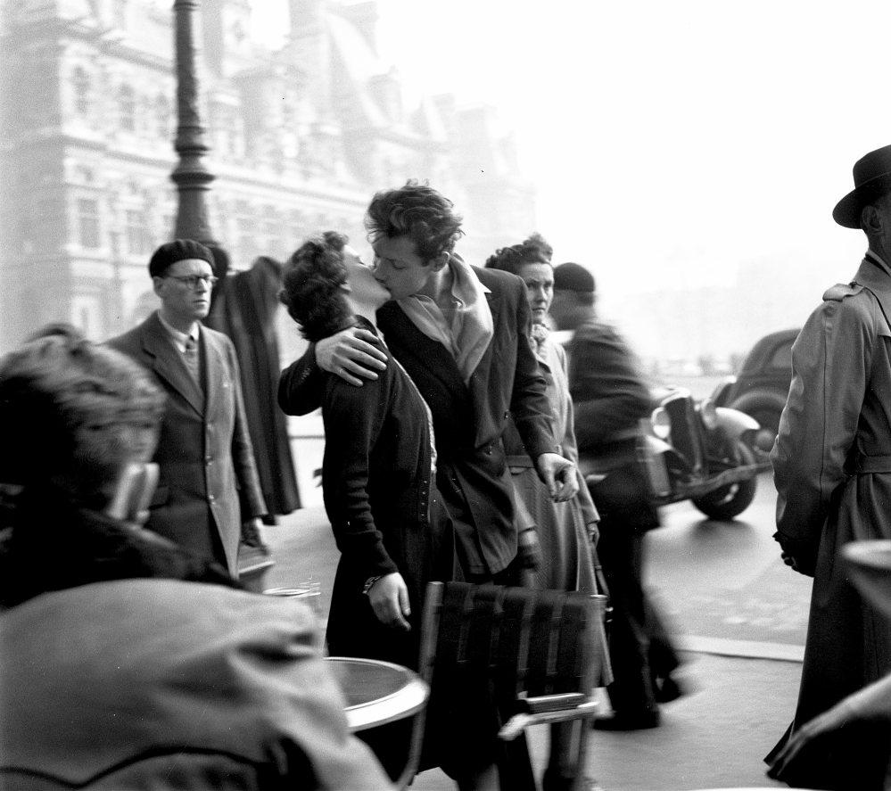 Baiser de l'Hotel de ville, Paris 1950 HD