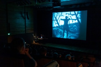 KINOKONZERT: ASHLEY HRIBAR & THE CABINET OF DR CALIGARI 1920 PG 7.00PM THU 5 MAR 2020 (1HR 14MINS) GOMA | CINEMA A | SOLD OUT Considered a quintessential work of German Expressionist cinema, The Cabinet of Dr Caligari 1920 tells the story of a deranged hypnotist who uses a somnambulist to commit murders on his behalf. Wiene's film is widely recognized both as a precursor of psychological thriller films and a metaphor of the horror of tyrannical political power. Celebrating the centenary of its release, The Cabinet of Dr Caligari will screen from a new 4K digital restoration. It will be accompanied by Australian pianist-composer, Ashley Hribar, who will perform a newly composed soundtrack alongside the film.